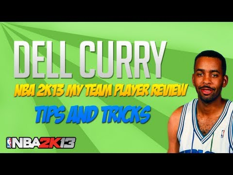 NBA 2k13 My Team Dell Curry Player Review