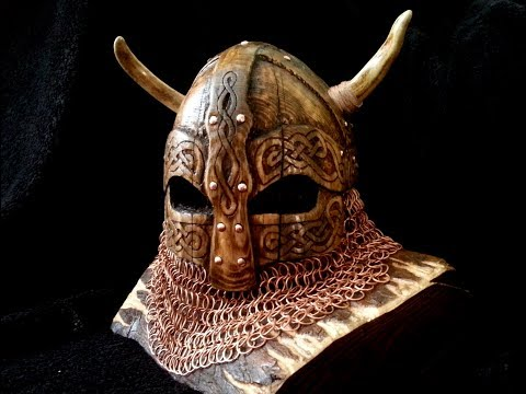 How to make a stand for axe. Viking helmet
