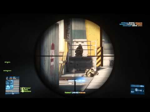 Back to Battlefield 3 - JNG-90 Gameplay