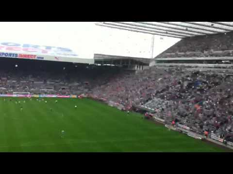 Ben Arfa penalty for Newcastle united against spurs 2-1 18/