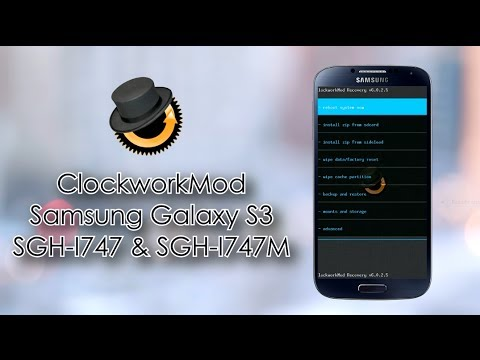 Instalar ClockworkMod Recovery - Samsung Galaxy S3 I747-I747M...