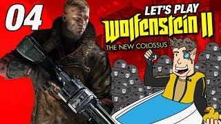 Wolfenstein 3D Game   Let's Play Wolfenstein 2 - Gameplay: Part 04