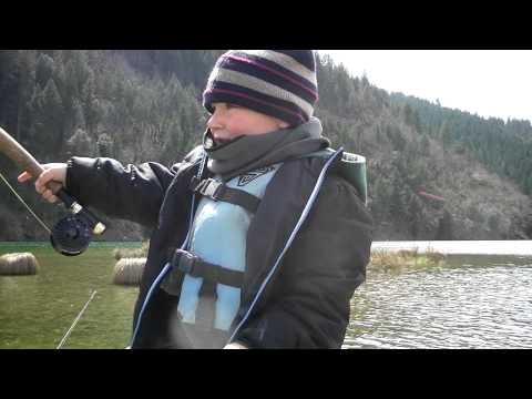 Feeding the Obsession-Lewiston Lake April 9th