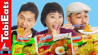 Download Lagu Japanese Try Indonesian Instant Noodles for the First Time EPIC TASTE TEST Gratis STAFABAND