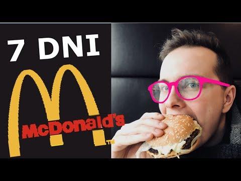 7 DNIOWA DIETA McDONALDS - CO SIĘ STANIE?