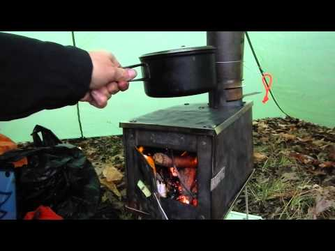 Hot Tent Wood Stove Bushcraft Overnight + Sleeping bag Rating Chat