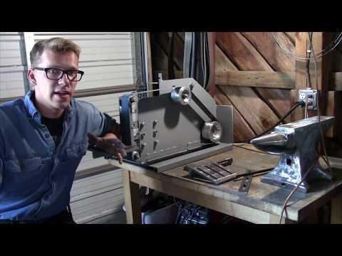 The Ultimate DIY Belt Grinder  Iron Wolf Industrial
