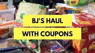 BJs Shopping Haul: Couponing And Saving Money On My First Trip