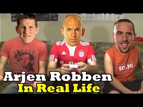 Arjen Robben in Real Life | PersianBroskie