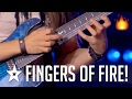 Fingers Of Fire Best Shred Guitar Solo Performance On Got Talent mp3