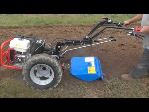 BCS 853 Berta rotary plow - breaking new ground