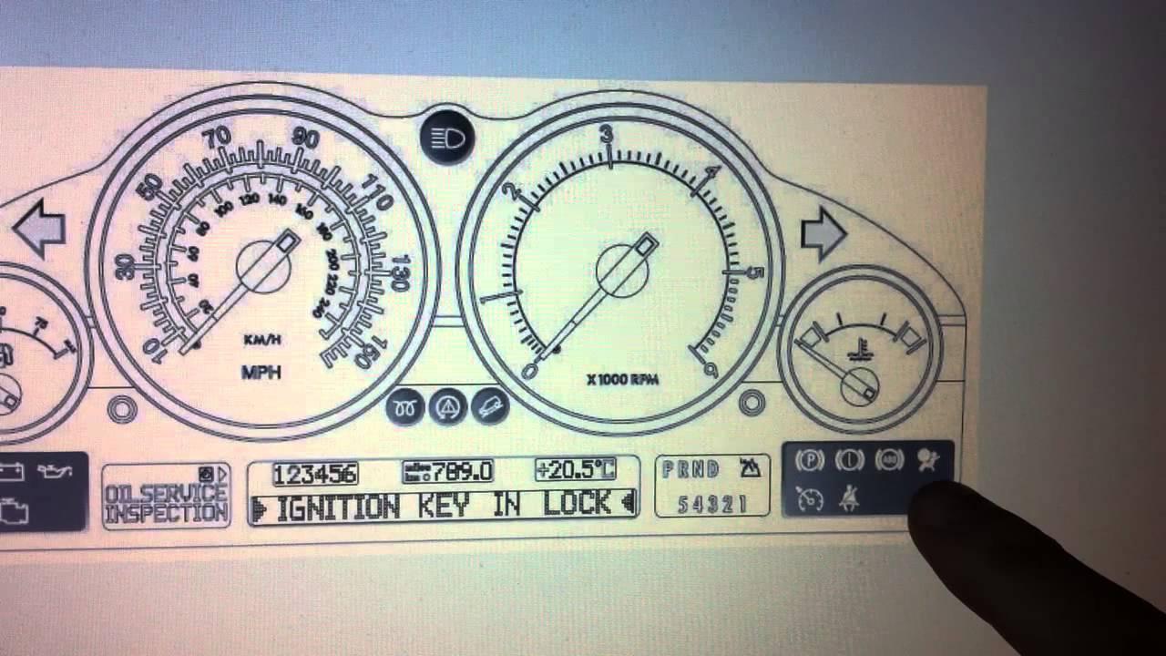 RESET Restraint System Defect SRS Airbag Warning Light ON