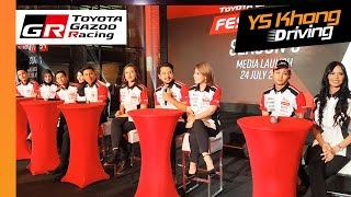 Celebrities Line-up for Toyota Gazoo Racing Festival Season 3. First Race in September.