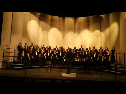 Iowa City West High School Concert Choir - Earth Song Frank...