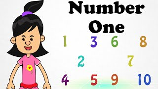 Number One Touch you Tongue | Cartoon Nursery Rhymes Songs For Children