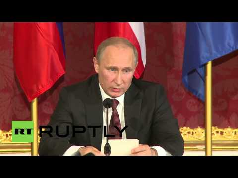 Austria: We must reach an end to bloodshed in Ukraine, not just talk about it -- Putin