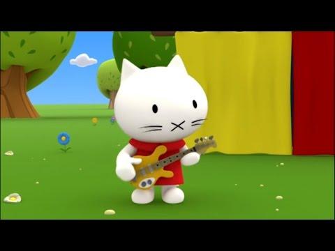 Котенок Мусти - Песенка - Учимся считать! Развивающие мультфильмы для самых маленьких.