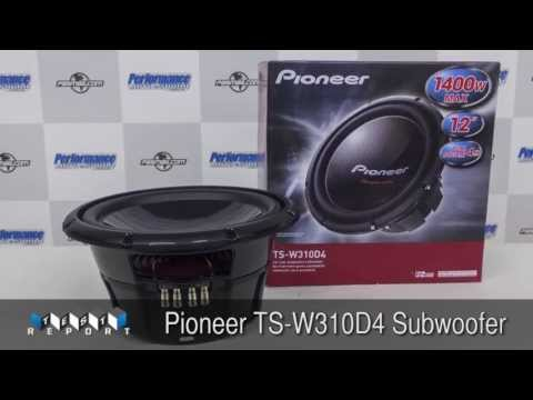 Pioneer TS-W310D4 Subwoofer Review