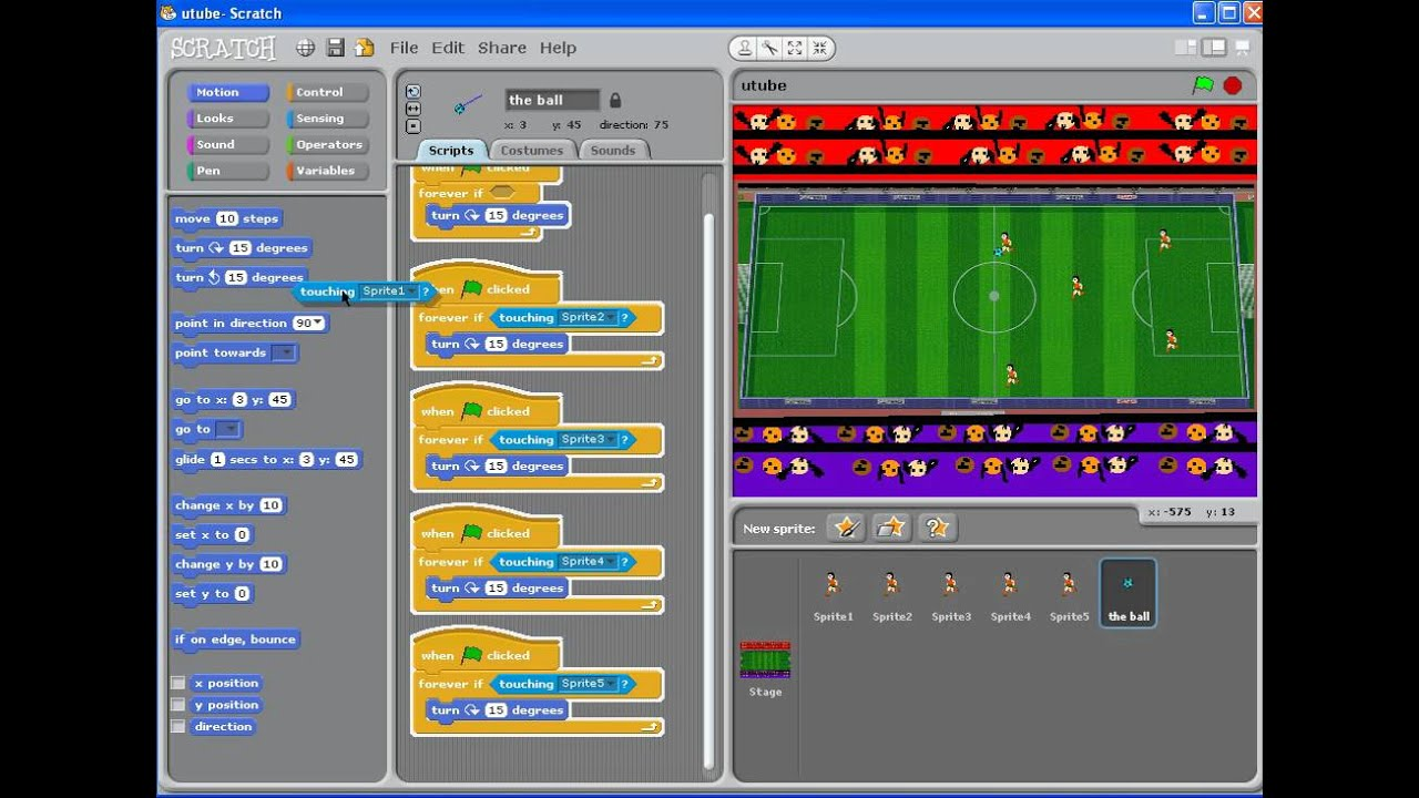 How to Make a Football Game on