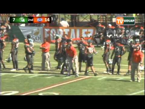 Final Aztecas UDLAP vs  Borregos Monterrey 2013