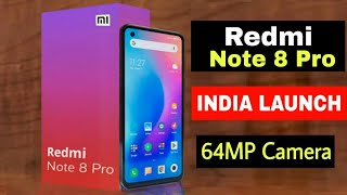 Redmi Note 8 Pro 64MP Camera Real Unboxing | Full Specifications | India Price & Launch