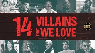 14 Villains That We Love | Fully Filmy Rewind