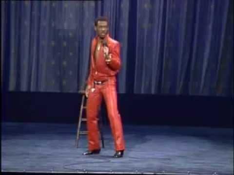 Eddie Murphy impersonates James Brown