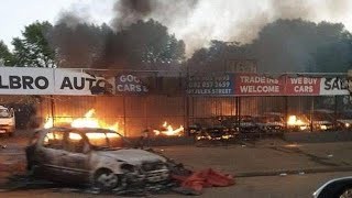 South Africa xenophobia: Zambian protest, Nigerians online fume
