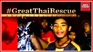 Thai Cave Rescue Chief: Big Thanks To Everyone; Celebrations Erupt As Soccer Boys & Coach Back Home