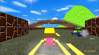 Counter strike source: mg_mario_kart