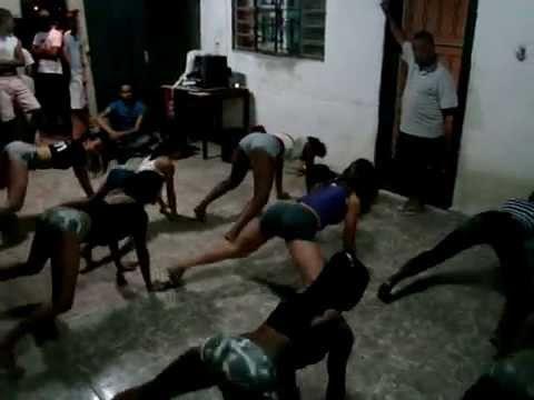 Ensaio Cia. Fissura - Kamasutra (mc Katia) video