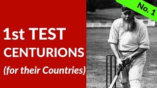 No. 1 Test Centurions for their Countries