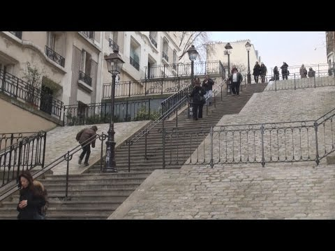 Montmartre, Paris ... Off the Tourist Track