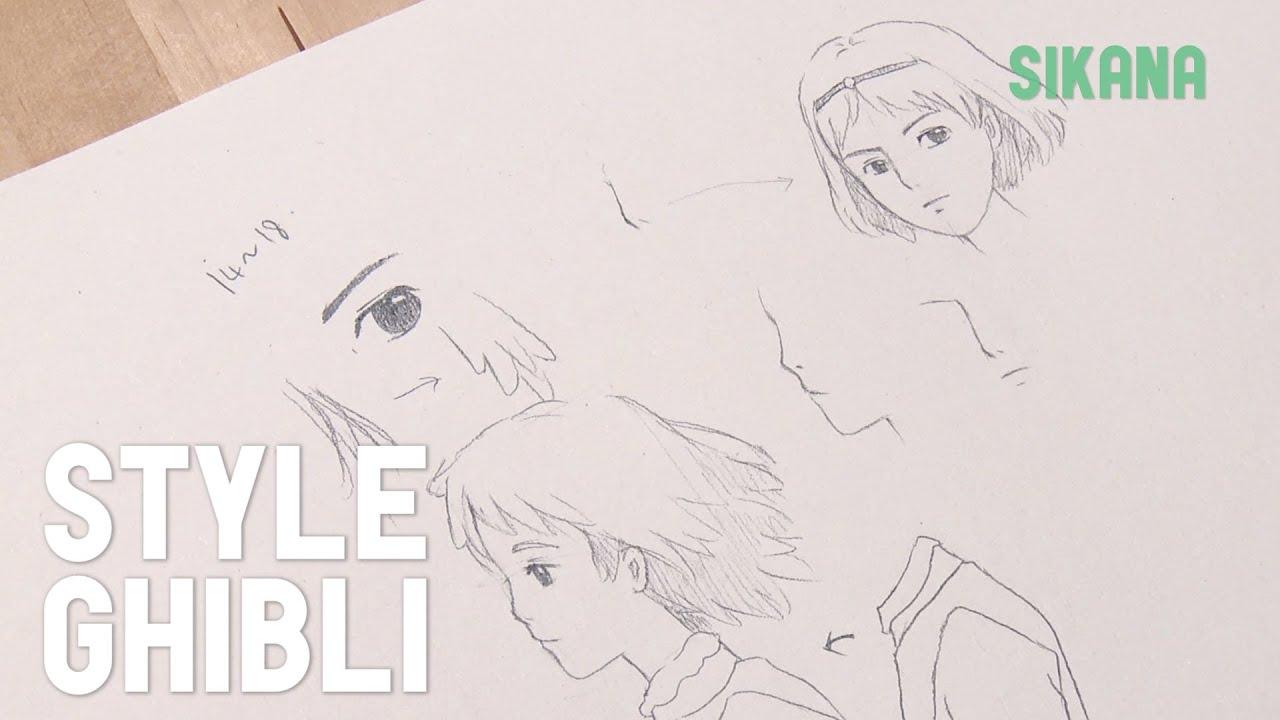 apprendre a dessiner ghibli