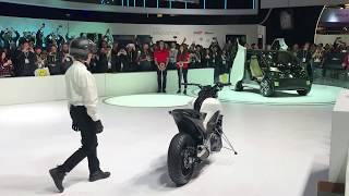 Honda Self-Balancing Bike