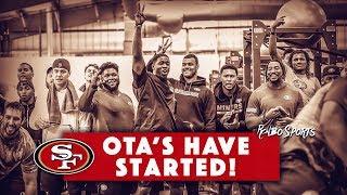 LIVE! Richard Sherman Leads 49ers Defense Into OTAs The Biggest Camp Battles 2018