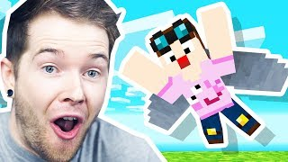 Learning to FLY in Minecraft Hardcore!