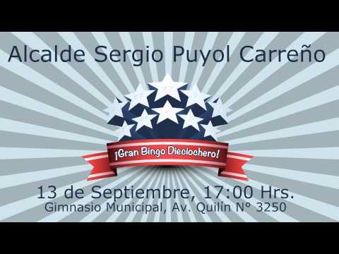 Gran Bingo dieciochero - Sábado 13 de Septiembre, 17 hrs