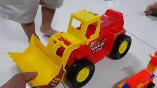 Kids Toy Bulldozer| Đồ chơi trẻ em xe ủi đất| Đồ Chơi Trẻ Em