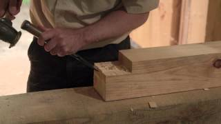 Cutting a Traditional Pegged Mortise and Tenon Joint – FastenMaster PROStar PROTips