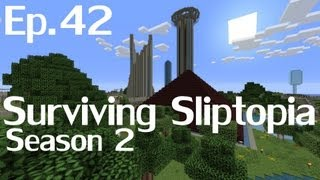 Surviving Sliptopia S2 Ep.42 - Testing Stuff And Things ( A Minecraft Let's Play )