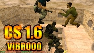 Counter-Strike - Лестница в cs 1.6 Паровоз и прочий угар с Vibrooo