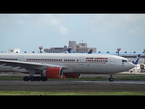 Air India Airbus A330-200 VT-IWB Takeoff from NRT 16R