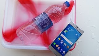Samsung Galaxy J5 2016 Water Test - It Is Water Resistant ?