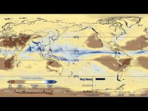 NASA Study Projects Warming-Driven Changes in Global Rainfall