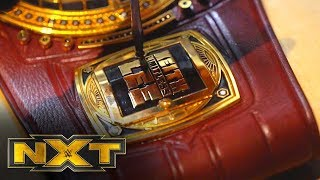 Keith Lee's sideplates are installed on the NXT North American Title: NXT Exclusive, Jan. 22, 2020