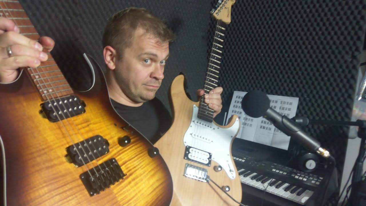 Ibanez RGA42 FM sound demo play HQ test