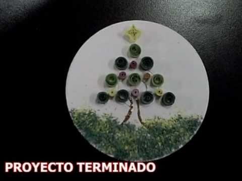 Manualidades reciclando cds youtube - Manualidades con cd usados ...