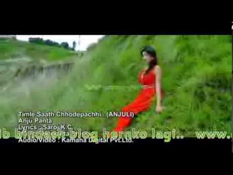 New Nepali Aadhunik Song 2014  Bay Anju Pant..  Timro Sathchhode Pachhi video
