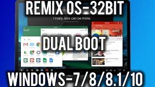download lagu How To Install Remix Os 32-bit Dual Boot Windows7/8/8.1/10legacy gratis
